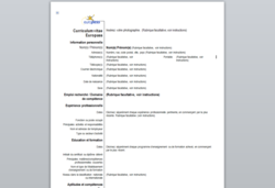 curriculum-vitae-europass