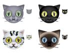Cute as a Button : des icônes en forme de tête de chat
