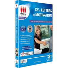 CV et lettres de motivation