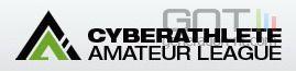 Cyberathlete amateur league logo