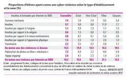cyberharcèlement france