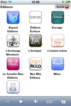 Cyberlibris iPhone Ebook 02