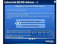 Cyberlink BD /></a><i><br />Menu du programme ( DR ; cliquez pour agrandir )</i><br /></div><b><br />Voici les résultats affichés pour ma machine :</b><br /><br /><div align=