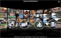 CyberLink MediaShow screen 1