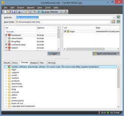 Cyotek WebCopy screen1