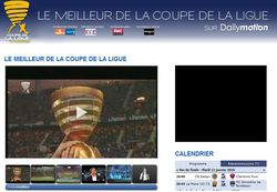 Dailymotion Coupe de la Ligue
