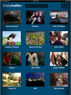 Dailymotion iOS 01