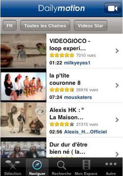 Dailymotion iPhone 02