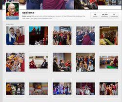dalaï lama instagram 2
