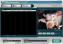 Daniusoft Video Converter Screen 2