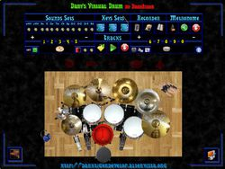 Dany's Virtual Drum screen2