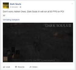 Dark Souls 3 60 FPS PC
