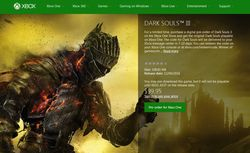 Dark Souls 3 precommande