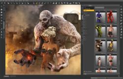 DAZ Studio screen1