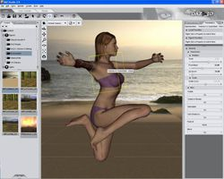 DAZ Studio screen2