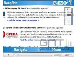 Deepfish navigateur web pour smartphones sous windows mobile small