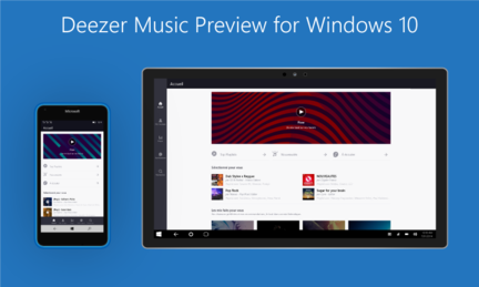 Deezer Windows 10