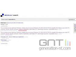 del.icio.us - Recherche de GNT