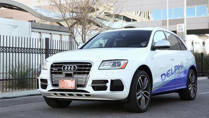 Delphi Audi Q5 autonome