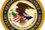 Département américain de la Justice blason