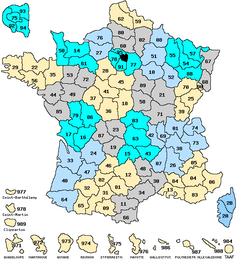 Les départements français screen2