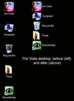 deskview screen