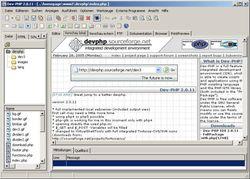 Dev-PHP IDE screen1