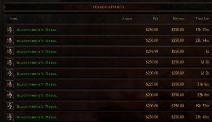 Diablo 3 argent réel