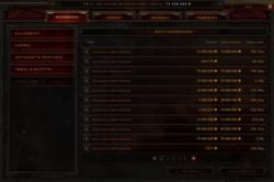 Diablo 3 - hotel des ventes