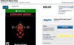 Diablo 3 Xbox One - capture