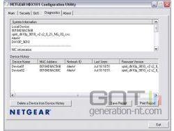 Diagnostics - HDX-101 Configuration Utility