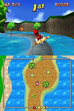 Diddy Kong Racer DS