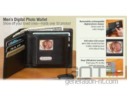 Digital photo wallet small