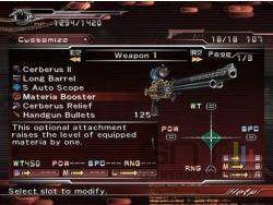 Dirge of Cerberus Final Fantasy VII scan 11