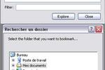 Dirkey : accéder à ses fichier ou répertoires favoris