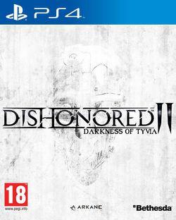 Dishonored 2 Darkness of Tyvia - boxart