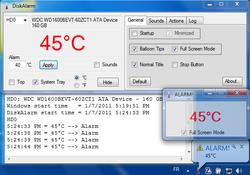 DiskAlarm screen2