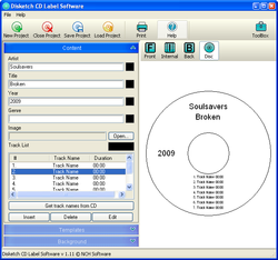 Disketch Disk Labeler screen2