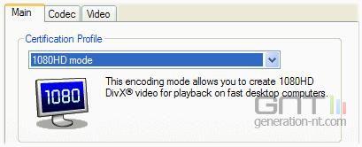 Divx 6 4 beta gestion 1080