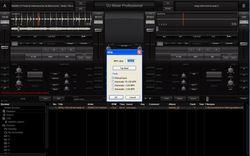 DJ Mixer screen