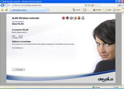 dLAN Wireless extender Starter Kit configdevolo9