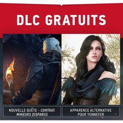 DLC Gratuits The Witcher 3