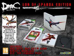 DmC Devil May Cry - Son of Sparda Edition