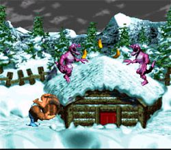 Donkey kong country 3 dixie kong double trouble 1