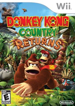 Donkey Kong Country Returns - pochette