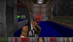 Doom - niveau Romero