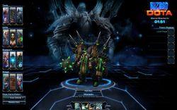 DOTA Starcraft II
