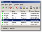 DownTester Portable : un outil pour tester votre vitesse de téléchargement