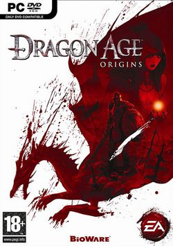 Dragon Age Origins - Jaquette