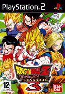 Dragon Ball Z : Budokai Tenkaichi 3   Pochette PAL